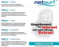 Netsurf Internet Zugangs-CD