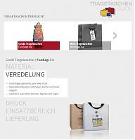 tragetaschen-guide.ch - Übersicht von 8 Produktlinien