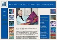 Heidi Förster - Textilkunst, Quilts & Patchwork